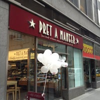 Photo taken at Pret A Manger by Mark K. on 3/3/2013