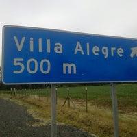 Photo taken at Cruce Villa Alegre by Héctor C. on 12/8/2014