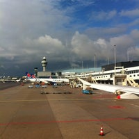 Photo taken at AMS to LHR by Liesbeth B. on 10/6/2012