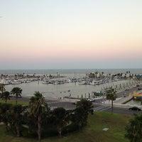 Photo taken at Corpus Christi Bay by Ash A. on 8/19/2013
