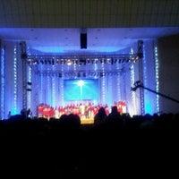 Photo taken at Assembléia de Deus by Tiago M. on 12/23/2012