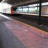 Photo taken at L1 Tren Ligero Estación Dermatológico by felipe a. on 1/11/2013