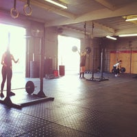 Photo taken at CrossFit Mission Gorge by Jesse M. on 11/11/2012