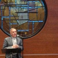 Photo taken at Unitarian Universalist Church Of Arlington by Ray on 4/13/2014