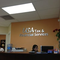Photo taken at USA Tax & Financial Services by Claire on 2/2/2013