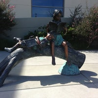 Photo taken at Redwood Shores Branch Library by Shruti G. on 3/26/2013