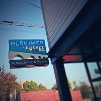 Photo taken at Herkimer Coffee by Daniel on 10/5/2012