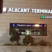 Photo taken at Estació d'Alacant Terminal by Alexander P. on 5/10/2013
