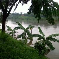 Photo taken at Banjir Kanal Timur (BKT) by Wasis P. on 1/17/2013