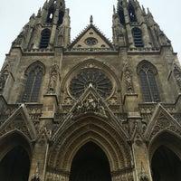 Photo taken at Basilique Sainte-Clotilde by Beau P. on 9/5/2016
