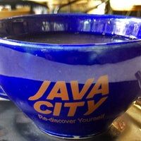 Photo taken at Java City by Rolf M. on 7/29/2014