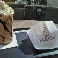 Photo taken at Caffe Metropolis by Marina M. on 9/20/2012