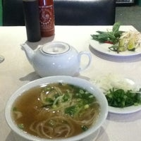 Photo taken at Vancouver Vietnamese Restaurant by Shaina on 10/20/2012