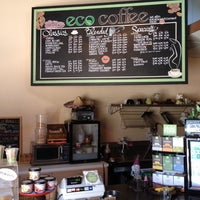 Photo taken at Eco Coffee House by Sean C. on 7/2/2014