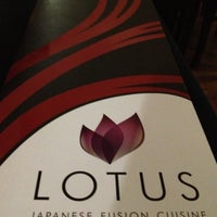Photo taken at Lotus Japanese Fusion Cuisine by Leandro on 5/4/2013