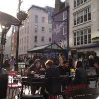 Photo taken at St Christopher's Place by Aysim on 4/14/2013