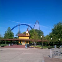 Photo taken at Millennium Force by Jonathan C. on 6/23/2012