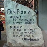 Photo taken at Stew Leonard's by Jill on 12/18/2012