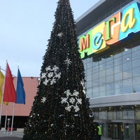Photo taken at МЕГА Дыбенко / MEGA Mall by Tanya on 12/24/2012