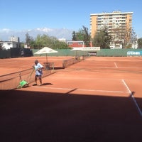 Photo taken at Federación de Tenis de Chile by Julio G. on 10/9/2013