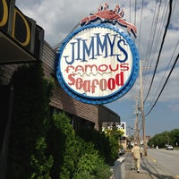Photo taken at Jimmy's Famous Seafood by Meghan A. on 7/27/2013