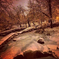 Photo taken at Marcus Garvey Park by Stephanie on 2/9/2013