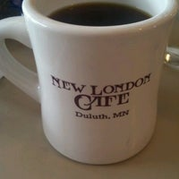 Photo taken at New London Cafe by Brianna R. on 9/28/2012