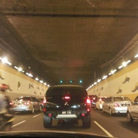 Photo taken at Jalan Tun Razak Tunnel by Izmal W. on 10/21/2015