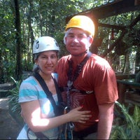 Photo taken at Treetop Adventure Park by Christine S. on 1/4/2013