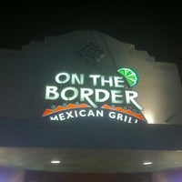 Photo taken at On The Border Mexican Grill & Cantina by Gustavo on 1/26/2013