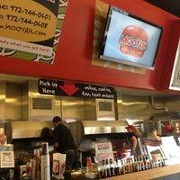 Photo taken at MOOYAH Burgers, Fries & Shakes by Derek M. on 1/22/2013