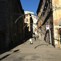 Photo taken at Corso Cavour by Pippotto on 12/30/2012