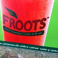 Photo taken at Froots by segunmoncho .. on 10/4/2012
