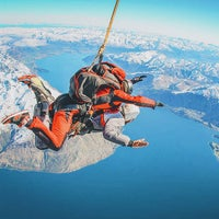 Photo taken at NZONE Skydive Queenstown by Off-The-Path.com on 4/16/2015