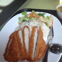 Photo taken at Ajisen Ramen by Shawna C. on 10/13/2012