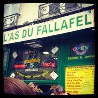 Photo taken at L'As du Fallafel by Karen H. on 5/9/2013