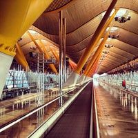 Photo taken at Adolfo Suárez Madrid-Barajas Airport (MAD) by Dmitry G. on 6/27/2013
