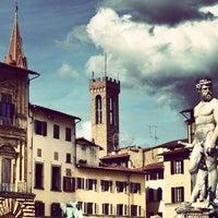 Photo taken at Piazza della Signoria by Bülent D. on 6/14/2013