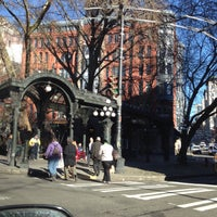 Photo taken at Pioneer Square Pergola by Adam Victor M. on 1/29/2015