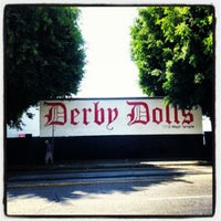 Photo taken at Doll Factory (L.A. Derby Dolls) by Rene M. on 9/17/2012