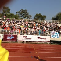 Photo taken at Estadio Wilfrido Massieu by Victoria on 5/19/2013