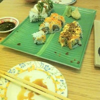 Photo taken at Full Moon Sushi & Bistro by Casey T. on 1/4/2013