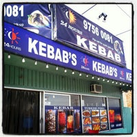 Photo taken at 24 Hours Kebab by James (. on 1/1/2013