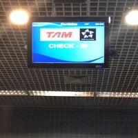 Photo taken at Check-in TAM by Kiko S. on 10/15/2013
