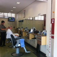 Photo taken at Barbearia do Onofre by Marcos Aurelio on 10/29/2012