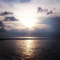 Photo taken at Pantai Barat Pangandaran by Hafizh M. on 3/23/2013