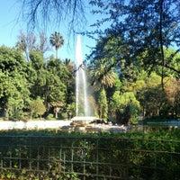 Photo taken at Parque México by Roberto P. on 2/22/2013