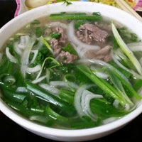 Photo taken at Phở Phú Gia by Betty L. on 8/24/2014