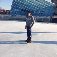 Photo taken at Brenton Skating Plaza by Leone S. on 1/8/2013