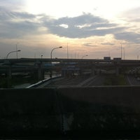 Photo taken at Gerbang Tol Kamal by Handy Ramli on 7/6/2013